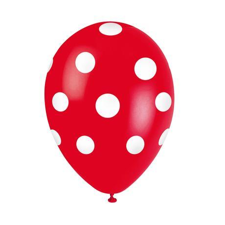 Balónek TORO 30cm puntíky 5ks