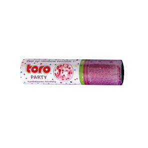 Vystřelovací duhové konfety TORO 15cm