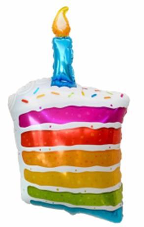 Balónek fóliový TORO 116cm dort