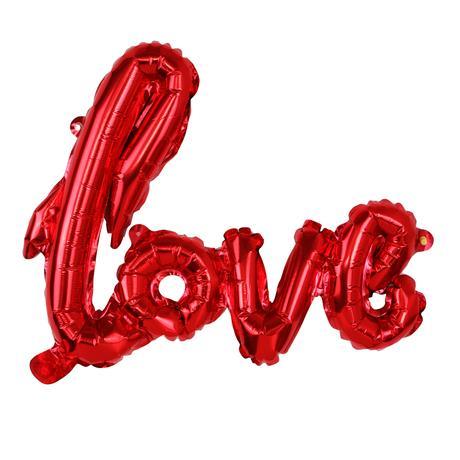 Balónek fóliový TORO 68cm love