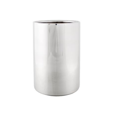 Nerezový chladič na víno, pr. 12 cm