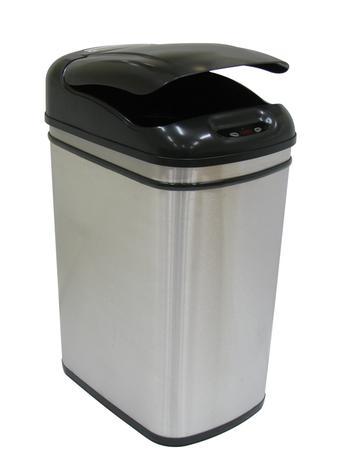 Nerezový odpadkový koš se senzorem TORO 32l