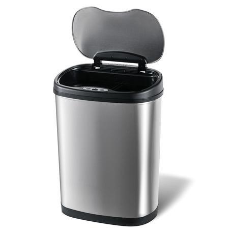 Nerezový odpadkový koš na tříděný odpad TORO ...