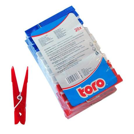 TORO Kolíčky na prádlo 20 ks