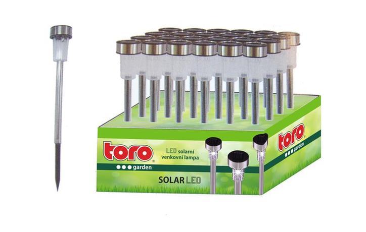 Solární venkovní LED světlo TORO