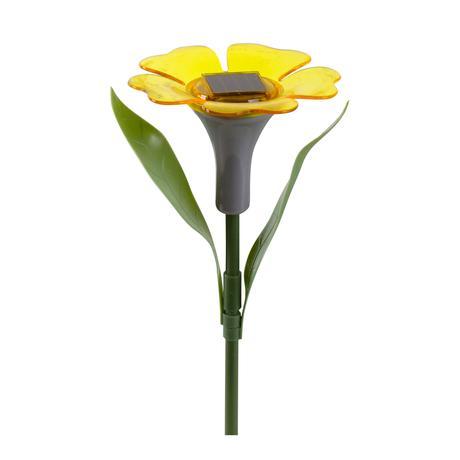Solární venkovní LED světlo TORO květina