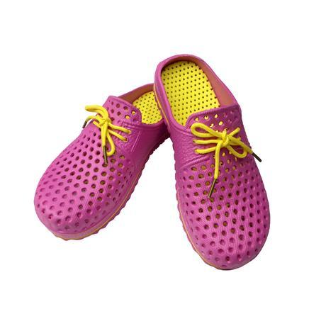Dámské gumové pantofle s tkaničkou TORO 38 as...