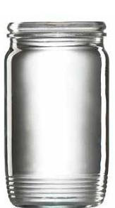 Sklenice zavařovací, 10 ks, 370 ml