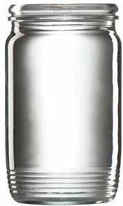 Sklenice zavařovací,  8 ks, 710 ml
