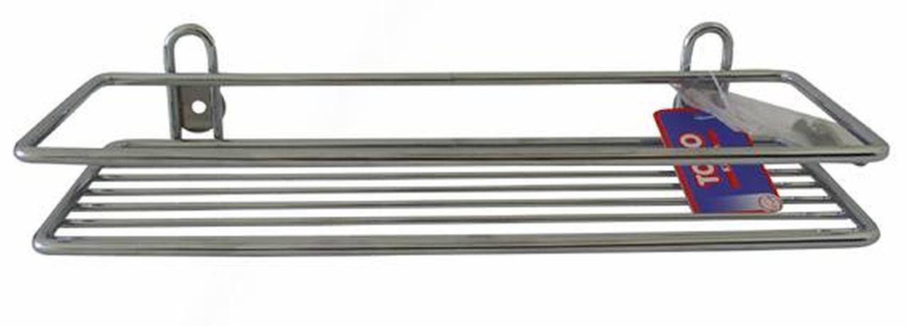 TORO polička obdelníková koupelnová 10,3 x 30 x 3,7 cm