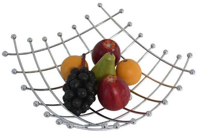 TORO mísa na ovoce drátěná 32 x 32 x 12 cm