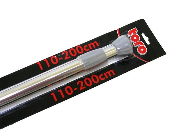 TORO Rozpěrná teleskopická tyč nerez, 110 - 200 cm