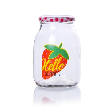 Zavařovací sklenice s víčkem TORO 800ml potis...