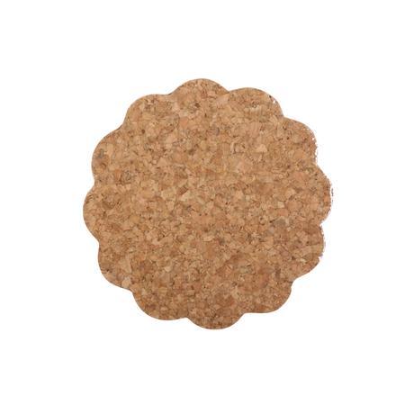 TORO Tácek kytička set 6 ks, 9,5 x 0,3 cm