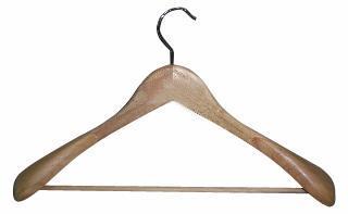 Dřevěné ramínko na šaty TORO