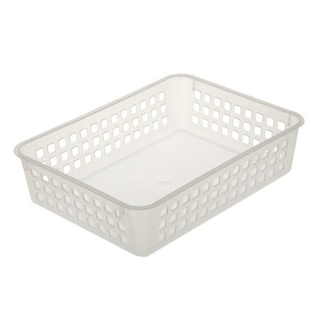 Košíček plastový, transparentní