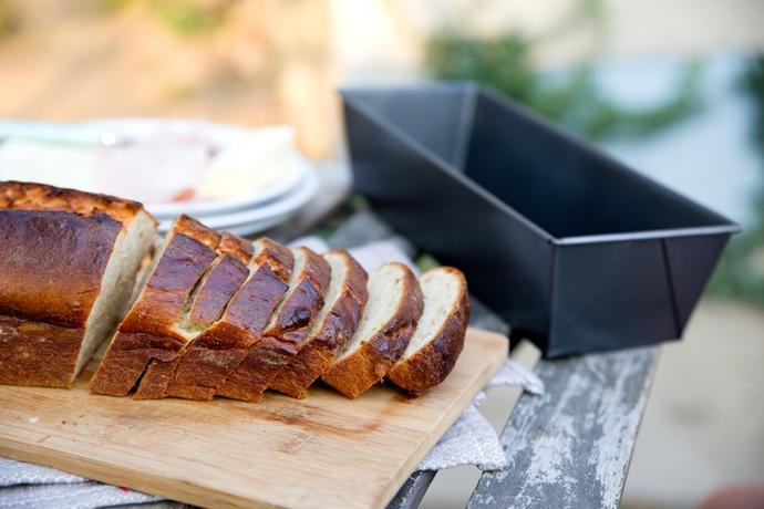 Bochníková forma na chléb TORO 27,5x15cm
