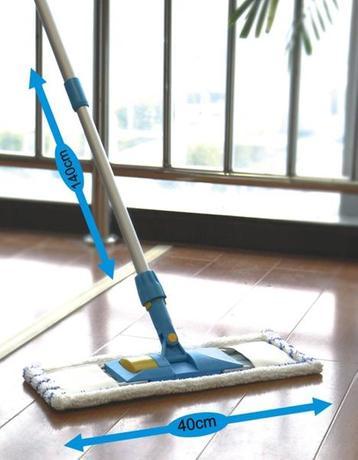 TORO Mop na podlahu, 40 x 16,5 cm