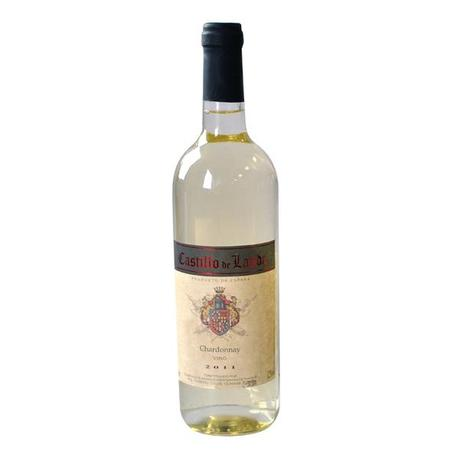Bílé víno Chardonnay - Castillo de Landa, 0,7...