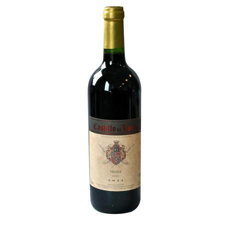 Červené víno Merlot - Castillo de Landa, 0,75...