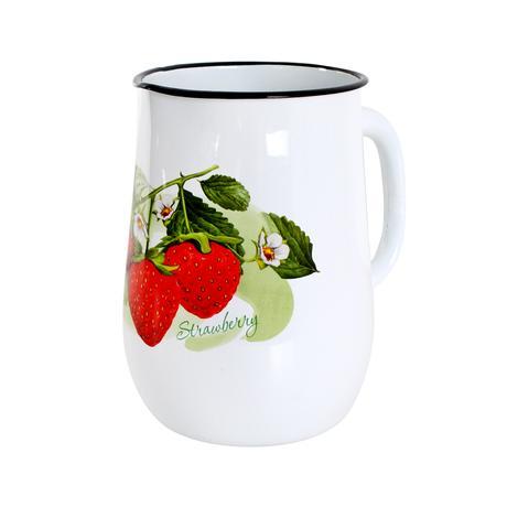 Smaltovaný džbán 2,5l ovoce