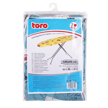 TORO 500052 Potah na žehlící prkno, 45 x 120 cm