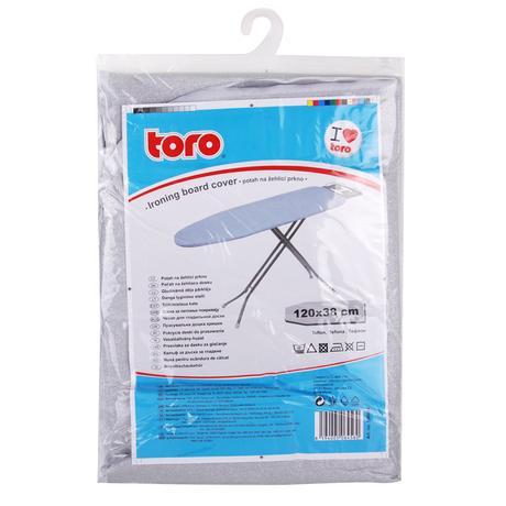 TORO 500054 Potah na žehlící prkno - nepřilnavý povrch, 45 X 120 cm