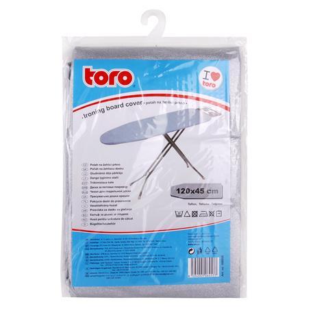TORO 500055 Potah na žehlící prkno - nepřilnavý povrch, 45 x 120 cm