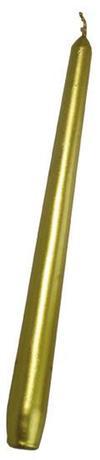 Kónická svíčka 24,5cm PROVENCE zlatá