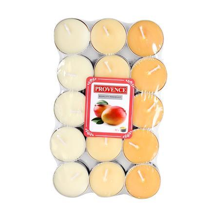 Čajová svíčka PROVENCE 30ks mango