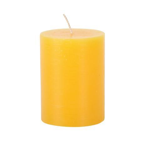 Rustikální svíčka 10cm PROVENCE žlutá