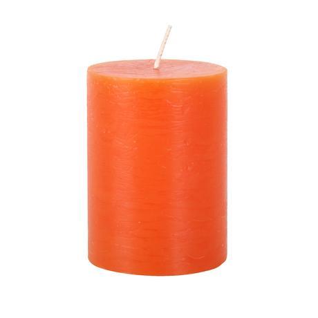 Rustikální svíčka 10cm PROVENCE oranžová