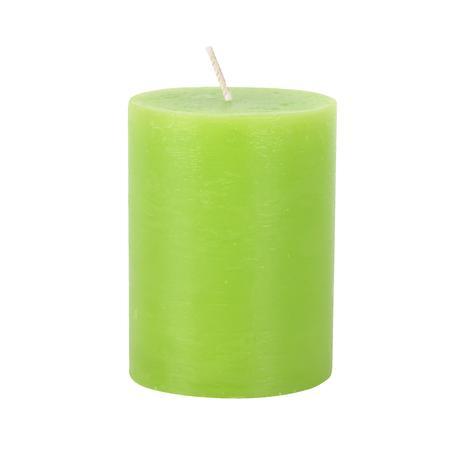 Rustikální svíčka 10cm PROVENCE zelená