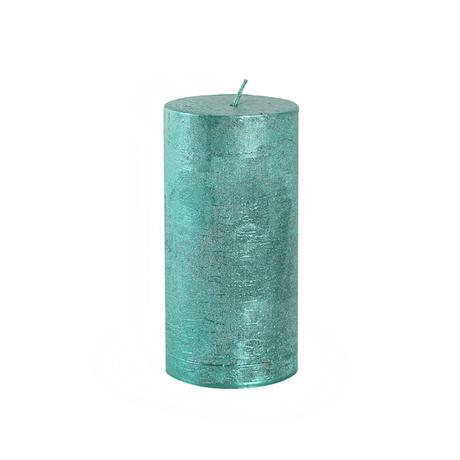 Rustikální svíčka 12cm PROVENCE zelená