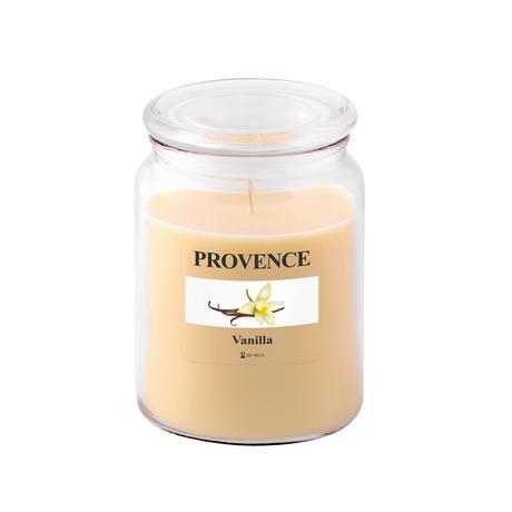 Vonná svíčka ve skle PROVENCE 510g, vanilka