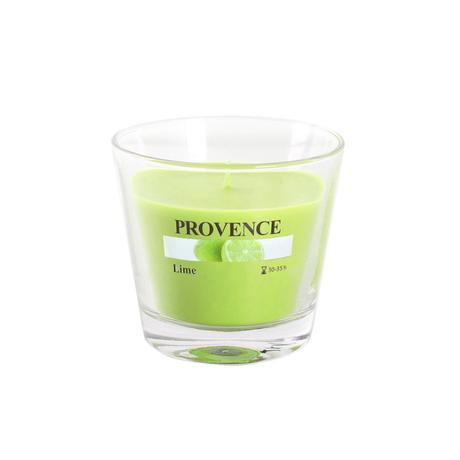 Vonná svíčka ve skle PROVENCE 140g, limetka