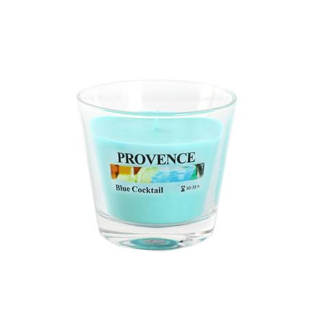 Vonná svíčka ve skle PROVENCE 140g, Blue Cock...