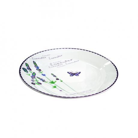 Keramický dezertní talíř TORO 19cm levandule