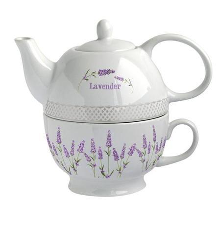 Konvička na čaj se šálkem