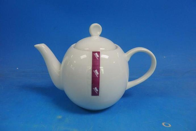 Konvička na čaj se sítkem, 900 ml, porcelán+n...