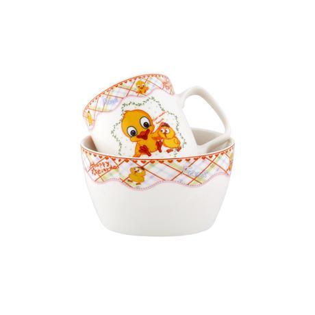 Dětská keramická jídelní sada TORO 2ks