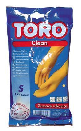 TORO gumové rukavice, velikost S