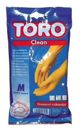 TORO gumové rukavice TORO, velikost M