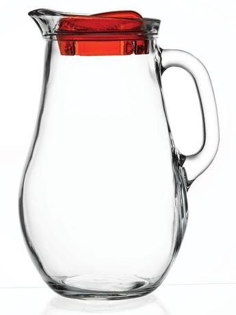 Džbán Bistro 1,85 l, sklo s plastovým víčkem