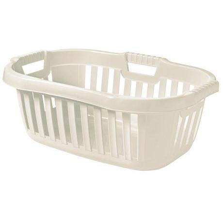 Tontarelli Koš na čisté prádlo - 50 l bílá - 45,5 x 67 x 26,5 cm