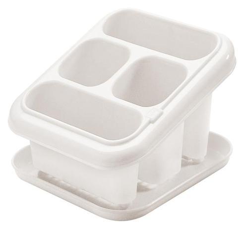 Plastový odkapávač na příbory s podnosem TONT...