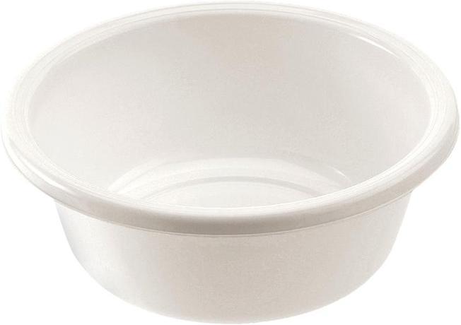 Tontarelli Kulaté umyvadlo 10 l - průměr 36 cm - bílá