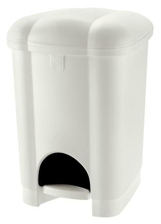 Plastový nášlapný odpadkový koš TONTARELLI Ca...