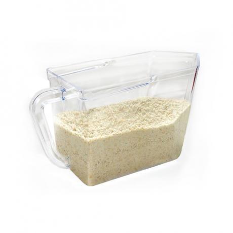 Zásobnice na potraviny, čirá, 1,5 l, plast
