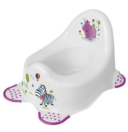 Keeeper dětský nočník Hippo bílá